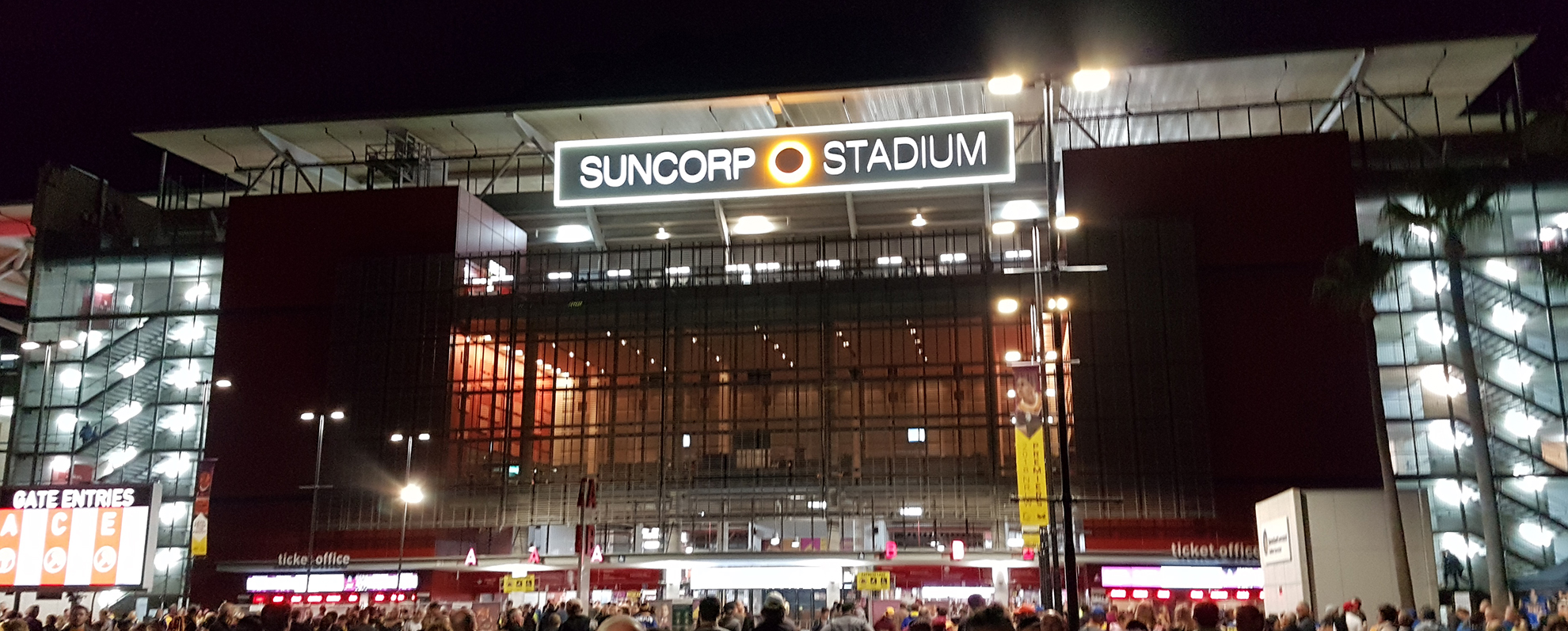 A Trip to the Footy to Watch the Brisbane Broncos take on the Parramatta Eels. Image Credit: Brian MacNamara.
