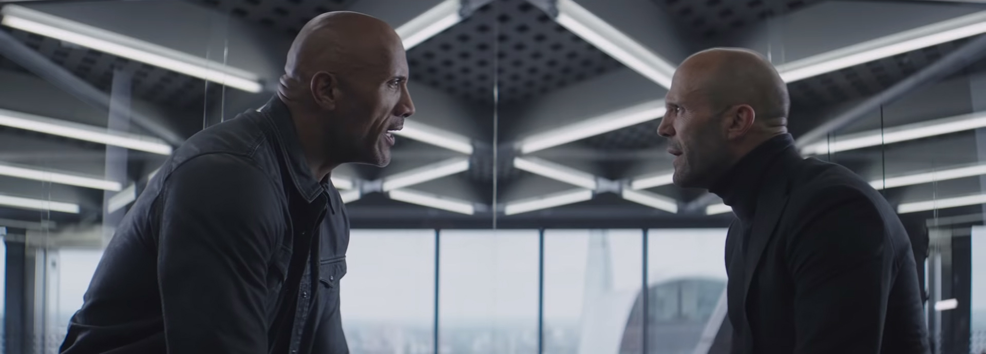 Hobbs & Shaw. Image Credit: Universal Pictures.