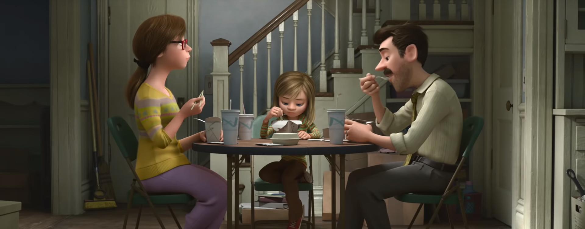 Inside/Out. Image Credit: Disney/Pixar.