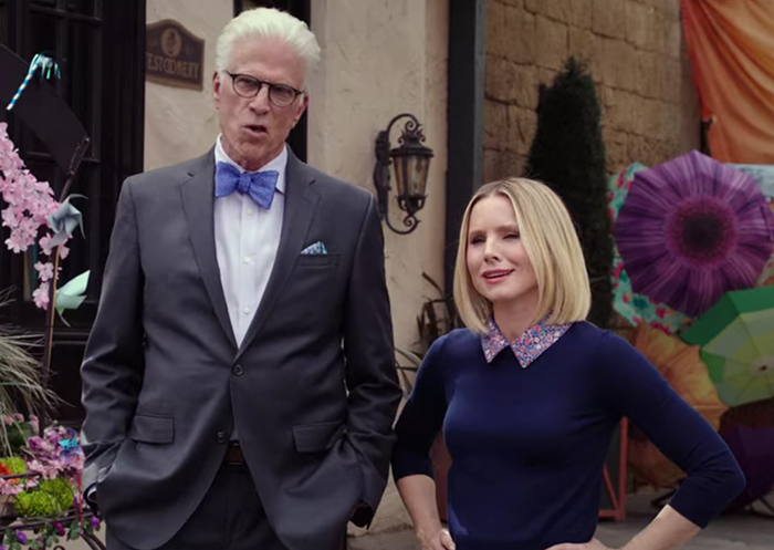 The Good Place: A Girl from Arizona Part 2. Image Credit: NBC.