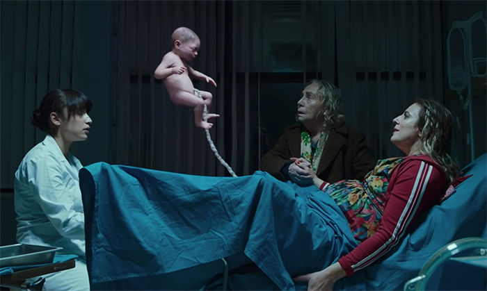 The Man Without Gravity (L'uomo Senza Gravità). Image Credit: Netflix.
