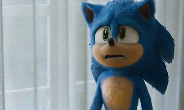 Sonic the Hedgehog. Image Credit: Paramount Pictures.