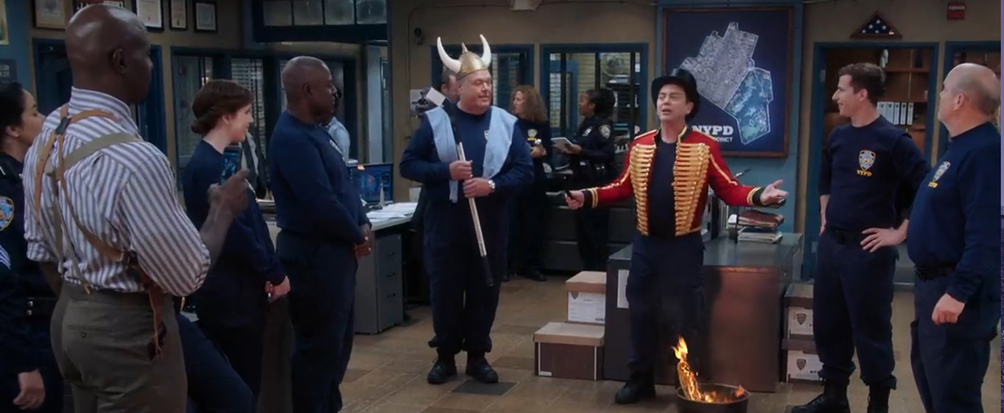 Brooklyn Nine-Nine: The Jimmy Jab Games II. Image Credit: NBC.