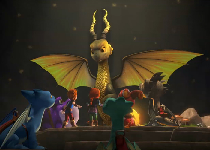 Dragons: Rescue Riders: Hunt for the Golden Dragon. Image Credit: Netflix.