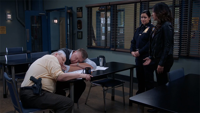 Brooklyn Nine-Nine: Admiral Peralta. Image Credit: NBC.