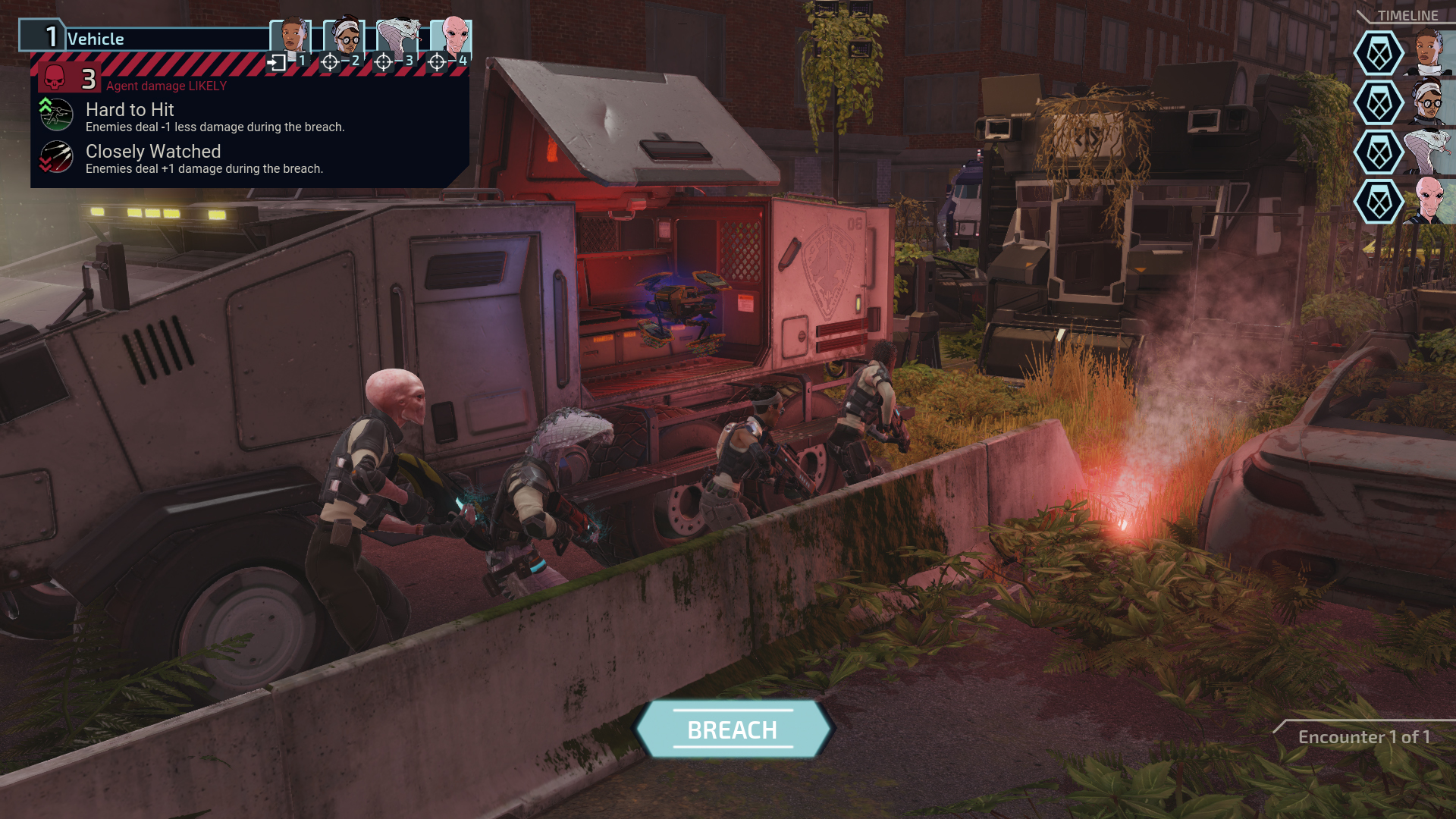 XCOM: Chimera Squad. Image Credit: Firaxis Games and 2K Games.