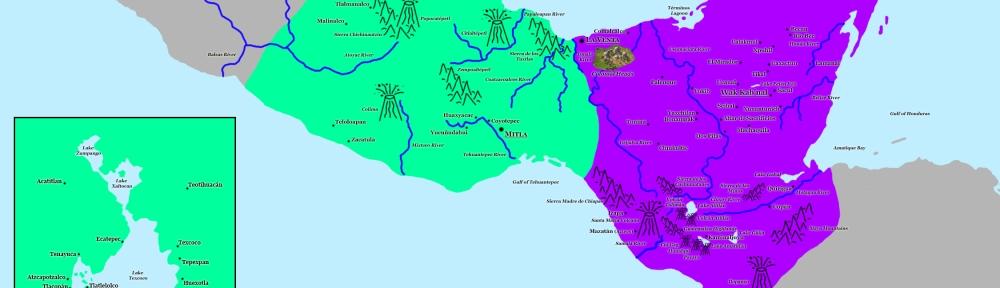 Map of Mesoamerica from Civilization VI. Image Credit: Brian MacNamara/Firaxis Games.