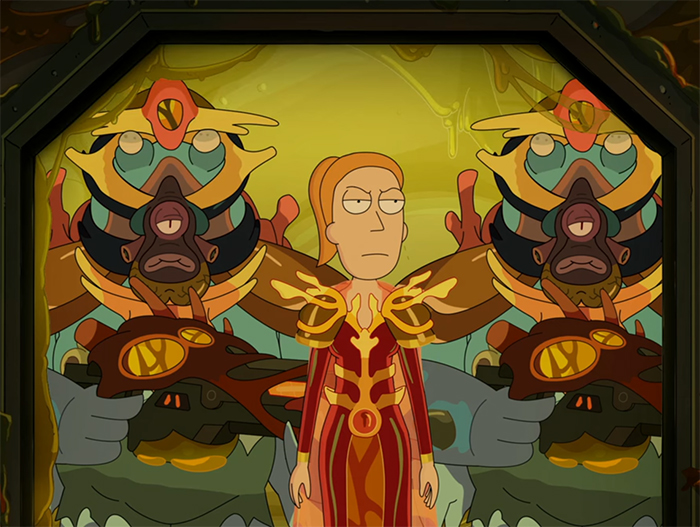 Rick and Morty: Promortyus. Image Credit: Netflix.