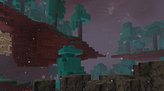 Minecraft Nether Update. Image Credit: Mojang.
