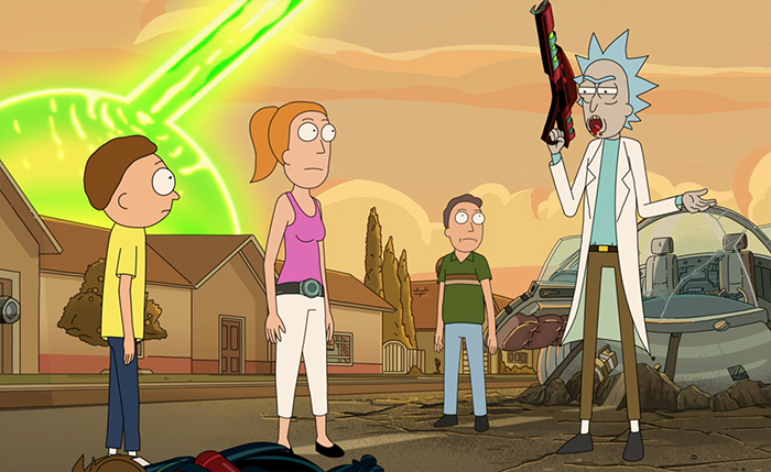 Rick and Morty: Star Mort Rick Turn of the Jerri. Image Credit: Adult Swim.