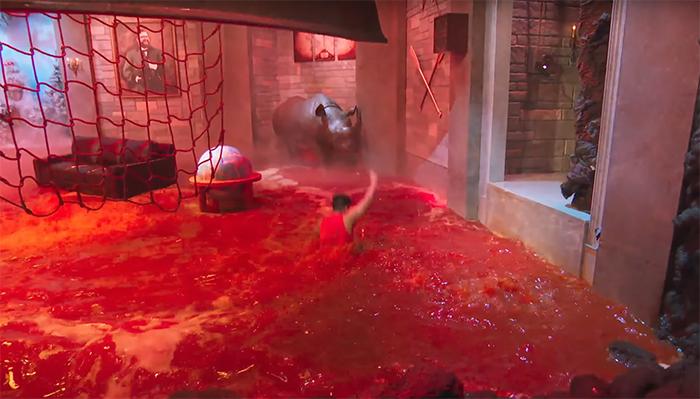 The Floor is Lava. Image Credit: Netflix.