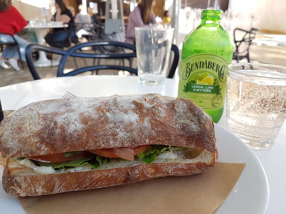 Lunch. Image Credit: Brian MacNamara.