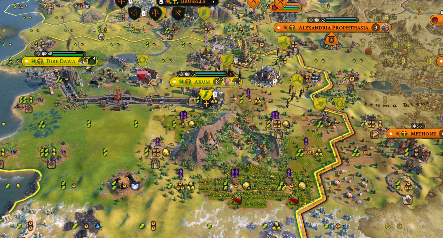 Civilization VI: Image Credit: Firaxis Games.