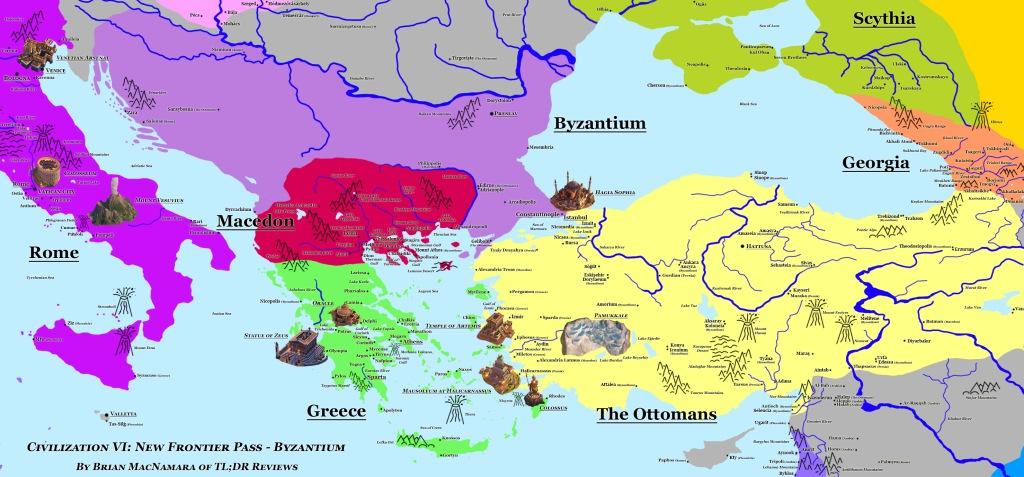 Civilization VI: New Frontier Pass - Byzantium. Image Credit: Brian MacNamara.