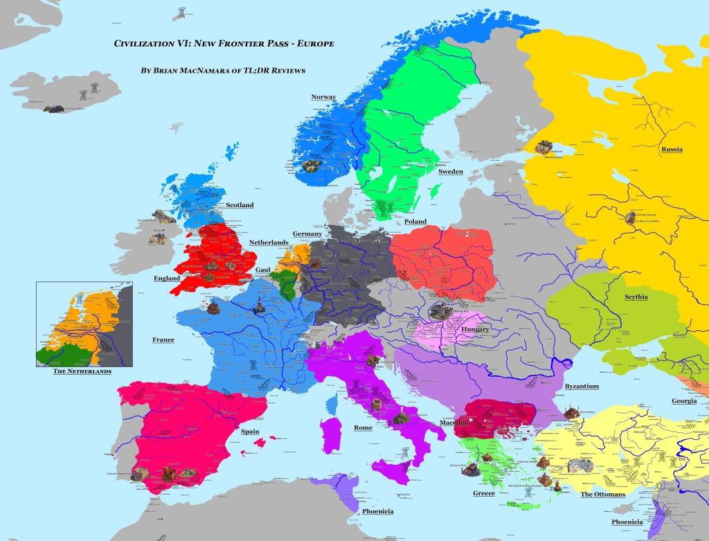 Civilization VI: New Frontier Pass - Europe. Image Credit: Brian MacNamara.