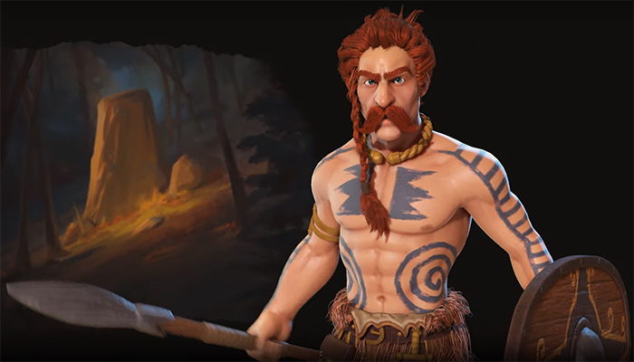 Ambiorix of Gaul. Image Credit: Firaxis Games.