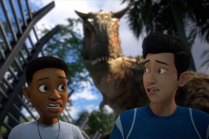 Jurassic World Camp Cretaceous. Image Credit: Netflix.
