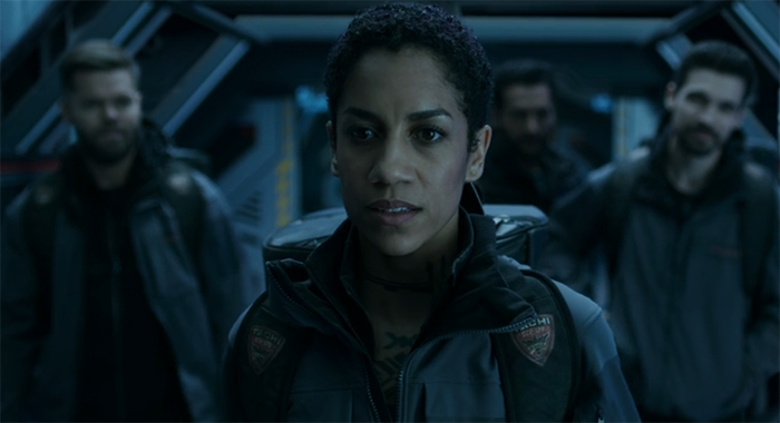Naomi Nagata (Dominique Tipper) The Expanse. Image Credit: Amazon Studios.