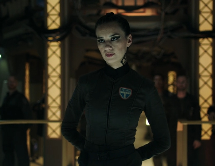 Camina Drummer (Cara Gee) The Expanse. Image Credit: Amazon Studios.