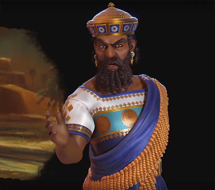 Hammurabi of Babylon. Image Credit: Firaxis Games.