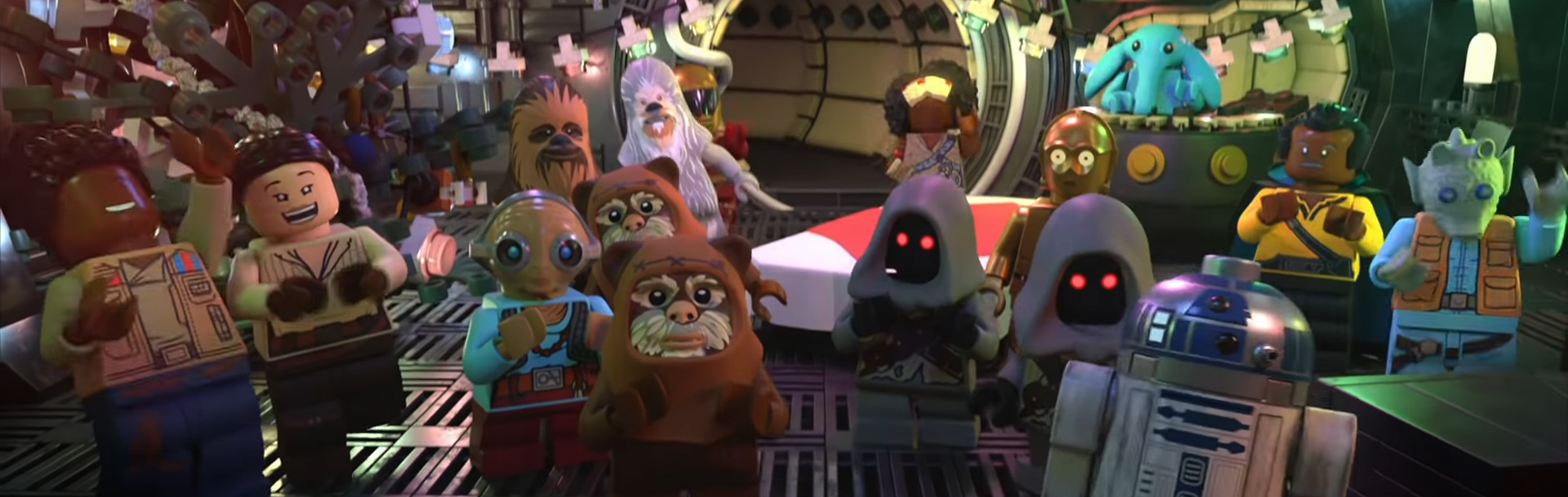 The Lego Star Wars Holiday Special. Image Credit: Disney+