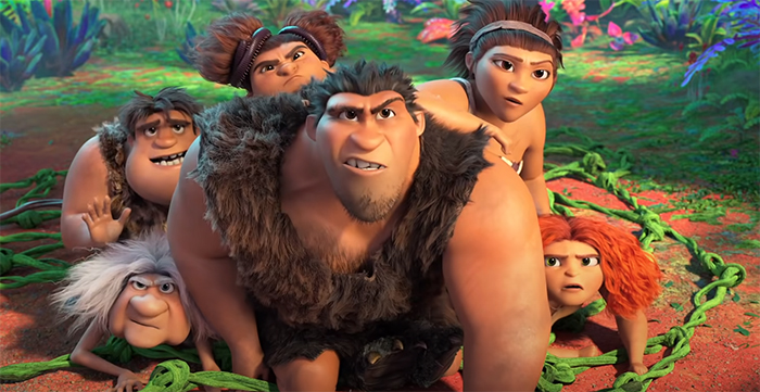 The Croods: A New Age. Image Credit: Universal Pictures.