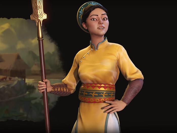 Lady Triệu. Image Credit: Firaxis Games.