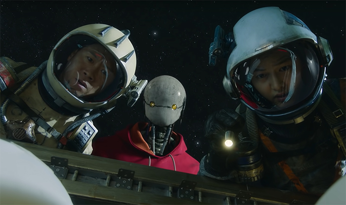 Space Sweepers. Image Credit: Netflix.