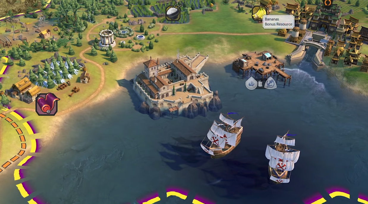 Feitoria. Image Credit: Firaxis Games.