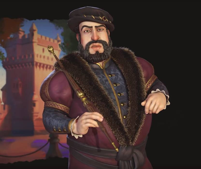 João III of Portugal. Image Credit: Firaxis Games.
