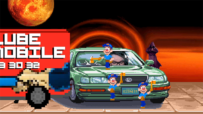 The end of every Hype Fighter is always met with the arrival of a Lube Mobile. Image Credit: Jordan Raskopoulos.
