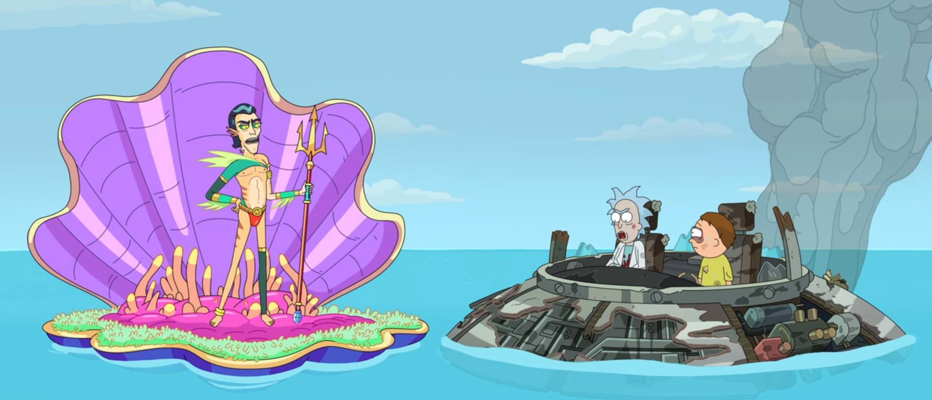 Rick and Morty. Image Credit: Netflix.