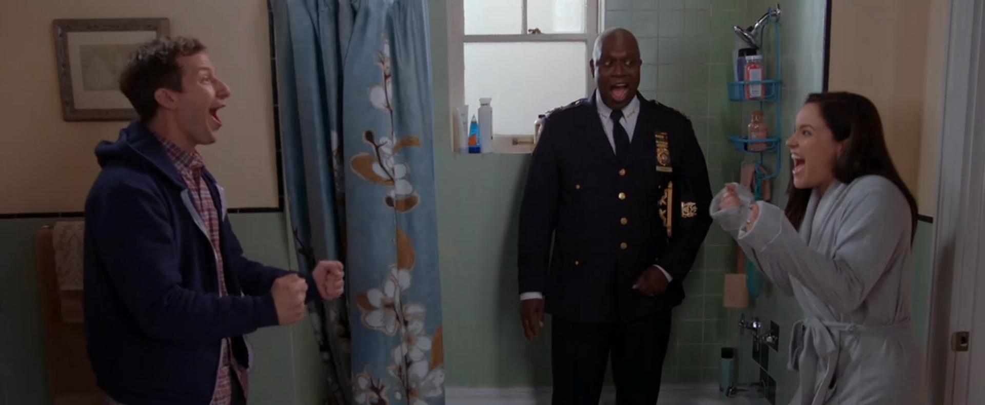 Brooklyn Nine-Nine: The Last Day. Image Credit: NBC Studios.